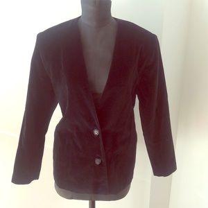 Jackets & Blazers - Vintage velvet blazer